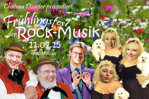 "LIVE ""Frühlingsfest der Rock Musik 2015"" Fellerdilln"